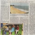 Dieser Artikel erschien am 19. April 2020 in der Neuen Braunschweiger. In ihm berichten wir von unserer Ankunft in Sierra Leone am 2. März 2020. Um den Text gut lesen zu können, klickt auf das Bild vom Artikel, unter dem ihr auch weitere Fotos findet.