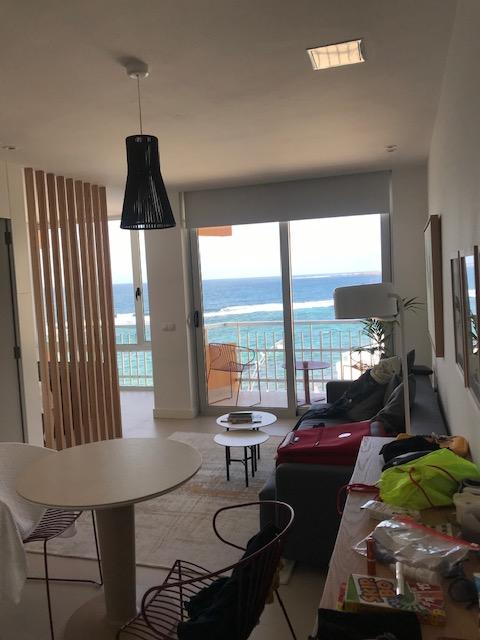 In der zweiten Wohnung 2019 haben wir den Atlantik vom 6. Stock aus bewundert!